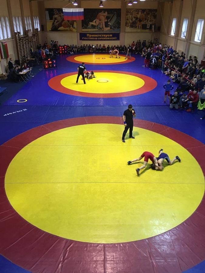 Международный турнир по вольной борьбе среди юношей на призы Г.И. Таропина